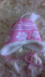 зимняя, теплая шапочка