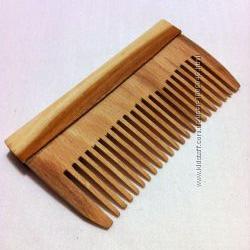 Расчёска деревянная мини