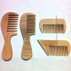Набор расчёсок деревянных
