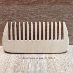 Расчётска буковая с широкими зубьями
