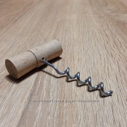 Штопор с деревянной ручкой вид2