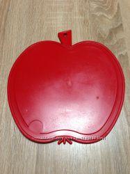 Доска разделочная пластиковая яблоко