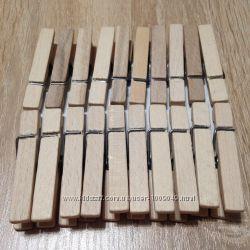 Прищепка деревянная 20 шт