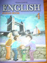 учебник англ. мова 4 кл. карпюк.
