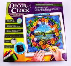 Набор для творчества Часы с вышивкой Decor clock, DC-01-02
