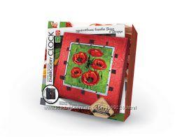 Набор для творчества Часы Вышивка гладью и бисером Danko Toys, EC-01-05