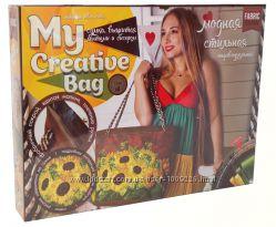 Набор для творчества Сумка, вышитая лентами и бисером МСВ-01-03 Danko toys