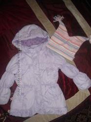 Куртка Matalan на девочку 4-5 лет
