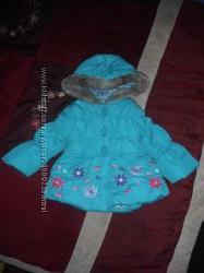 демисезонные курточки Bhs и Zara для девочки 12-18 мес.