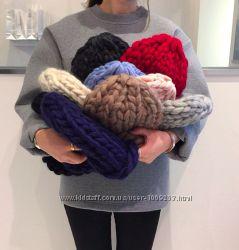 Тёпленькие вязаные шапочки под заказ
