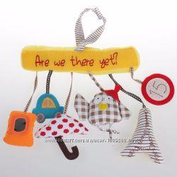Музыкальная подвеска с игрушками на коляску, кроватку, автокресло