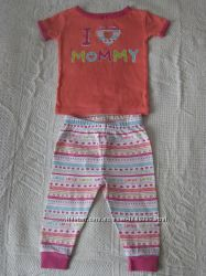 Яркая коттоновая пижама  Koala Kids, Америка. Оригинал