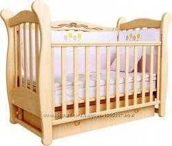 Детская кроватка маятник и матрас
