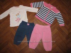 Качественная одежда  Blue Zoo,  H&M, Wonderkids для девочки 6-9 месяцев