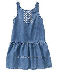 Джинсовое платье на девочку 9-11 лет, размер14, крейзи.