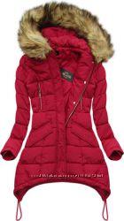 Куртка зимняя с капюшоном женская