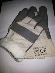 Зимние на искуственном меху рабочие спецовочные перчатки