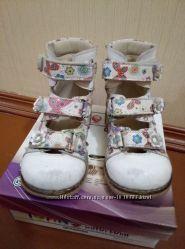 Ортопедические кожаные туфли Tofino 25 размер стелька 16 - 16, 4 см