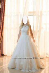Свадебное платье LAYTON DOMINISS болеро, кольца