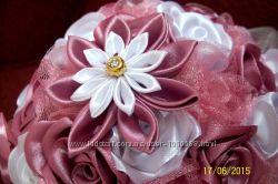 Букет невесты и свадебные аксессуары ручной работы
