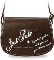 4aabe25556a8 Коричневая женская сумка-мессенджер MARSEJLI, 365 грн. Женские сумки ...