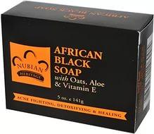 Черное африканское мыло Nubian Heritage