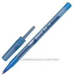 BIС Ручка шар. Round stick, 1. 0 мм. , синяя - цена за 10 шт, от 30 шт скид
