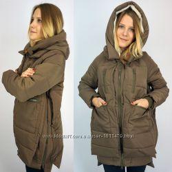 Акция Куртка женская парка зимняя стильная с карманами, 600 грн ... 9493d7135ce