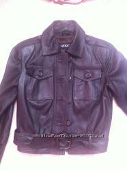 Стильная кожаная курточка, S-M