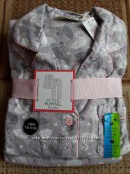 Женские  мягкие   фланелевые пижамы  ТМ PRIMARK
