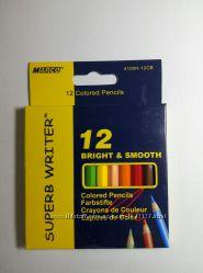 Карандаши цветные, фломастеры, ручки гелевые перламутровые для раскрасок
