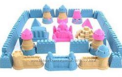 Формочки для кинетического песка Крепость, Замок, Чудеса света, Морской мир
