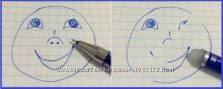 Стирающая ручка пиши стирай