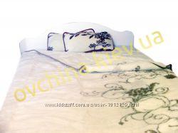 Двухспальный плед из овечьей шерсти Alwero