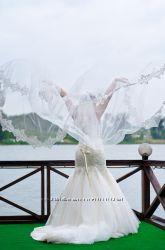Эксклюзивное свадебное платье ручной работы
