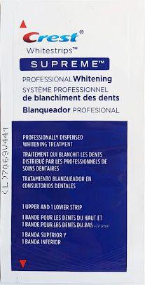 Отбеливающие полоски Crest Whitestrips Supreme Professional оригинал США