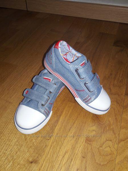 Новые кеды Pablosky мокасины кроссовки 27 размер 17. 5 см летние хлопок
