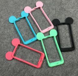 Силиконовый бампер для Iphone 5 5S