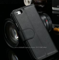 Кожаный чехол книжечка iphone 6 Plus 5. 5 дюйма