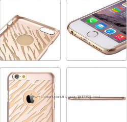 Золотые чехлы для iPhone 6 6S 4. 7 дюймов гибкий материал