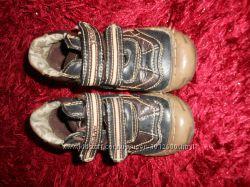 Демисезонные ботиночки для мальчика Teddy