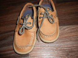 Кожаные модные туфли для мальчика 9. 5 по евро размер
