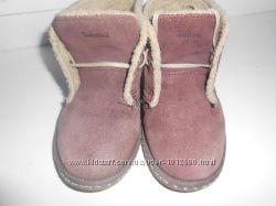 Демисезонные замшевые ботинки Timberland 8 размер наш 26 размер