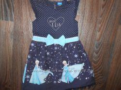 Платье с Frozen на 7-8 лет