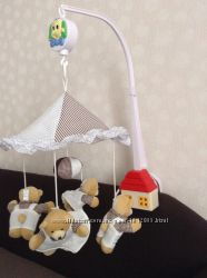 Мобиль на кроватку Canpol babies Мишки с ночником
