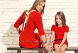 пошив одежды в стиле family look платья купальники костюмы