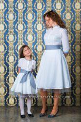 платья в стиле мама и дочка индивидуально под каждую  создаем стиль на меро