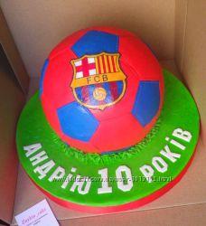 Торт футбол на заказ Киев Виноградарь