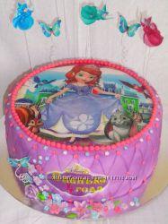 Торт принцесса София на заказ Киев Виноградарь