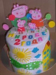 Торт Свинка Пеппа на заказ Киев